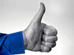 "Thumbs Up - ""Like"" the Maya Tea Company on facebook!"