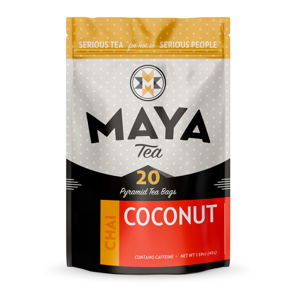 Loose Leaf Coconut Chai from Maya Tea Company