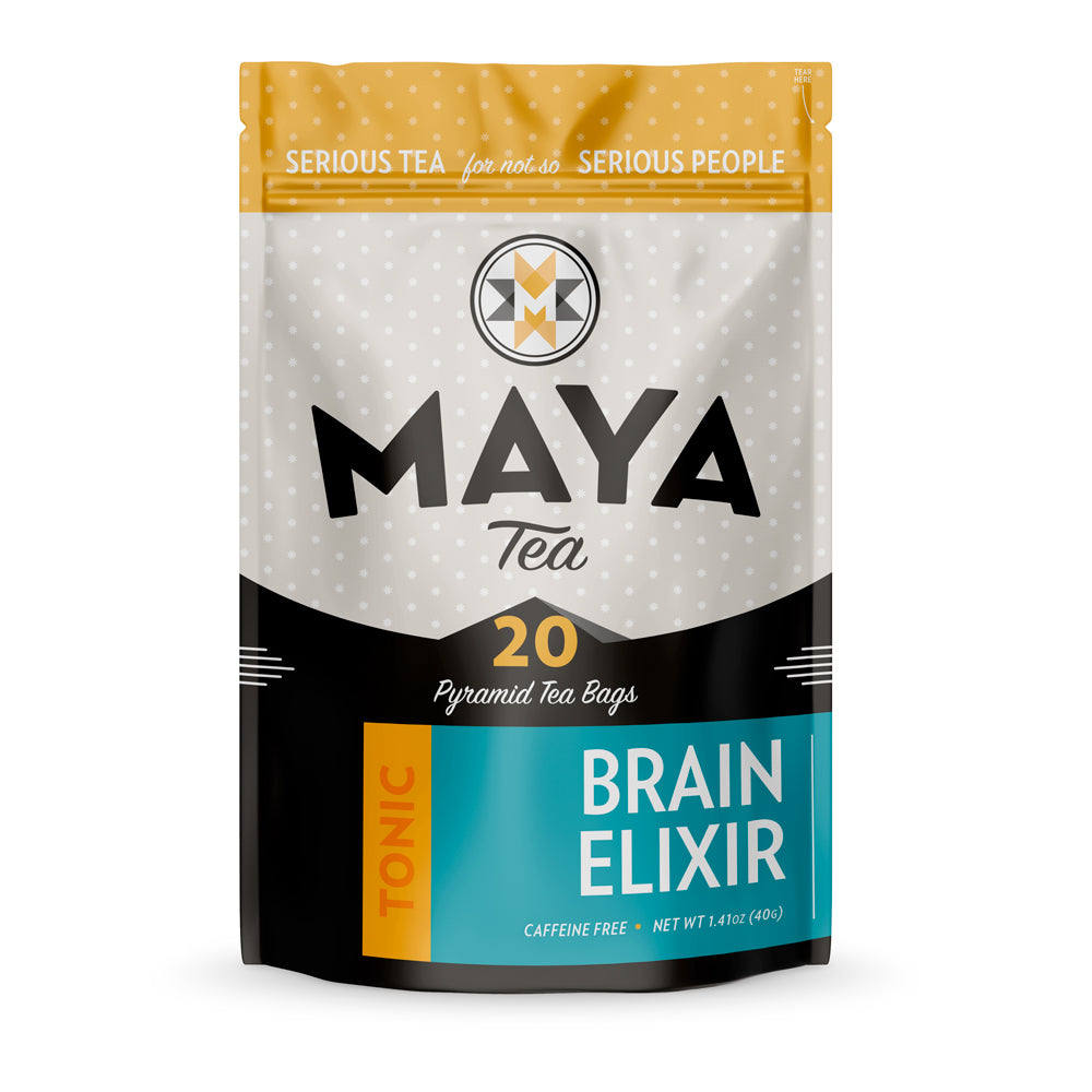Brain Elixir Herbal Tea Bags Pouch