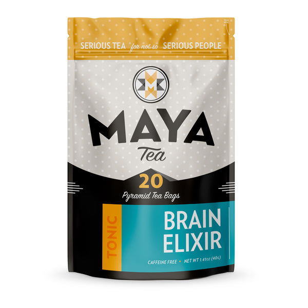 Improve brain function and memory with this tea, featuring ginkgo biloba and gotu kola.