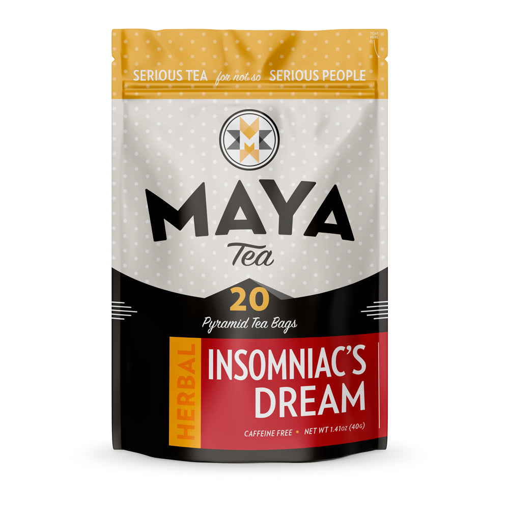 Insomniac's Dream Herbal sleep Tea Bag Pouch