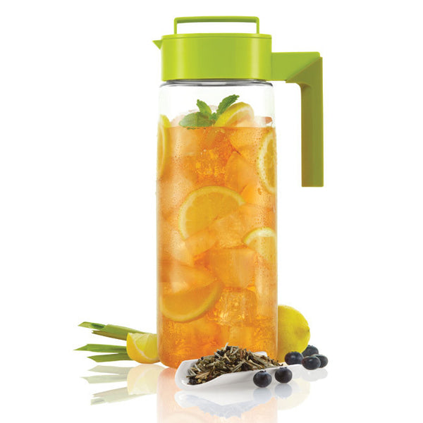 The Takeya Iced Tea Maker helps you make iced tea in 3 ways: hot brew, cold brew, and flash-chill.