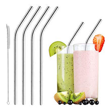 Load image into Gallery viewer, JuJu Stainless Steel Straws - The JuJu Products