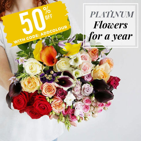 Black Friday Platinum Flowers