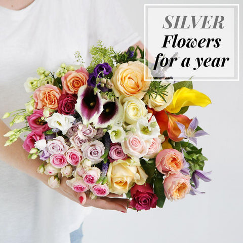 Silver Flowers For a Year