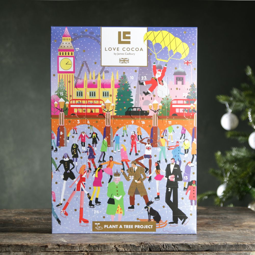 Love Cocoa Luxury Chocolate Advent Calendar
