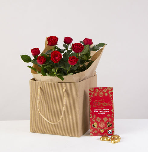 Romantic Rose Plant Gift Set
