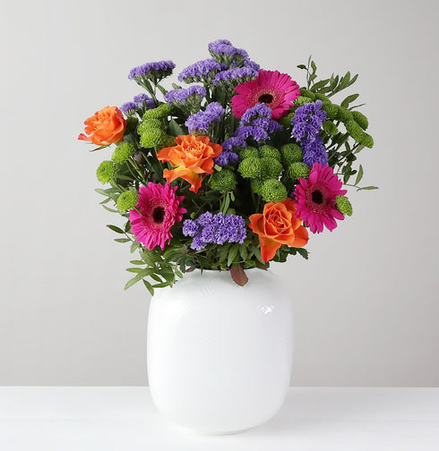 A 'Pop Of Colour' Bouquet