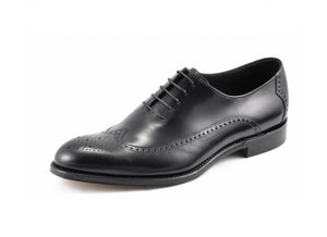 LOAKE Beaufort - Premium brogue oxford - Black - RTD - Ninostyle