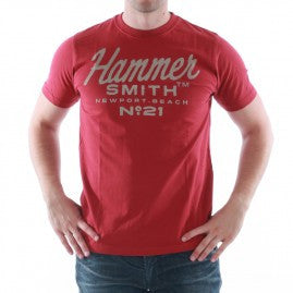Catbalou - Hammersmith - Short Sleved T-shirt - Red