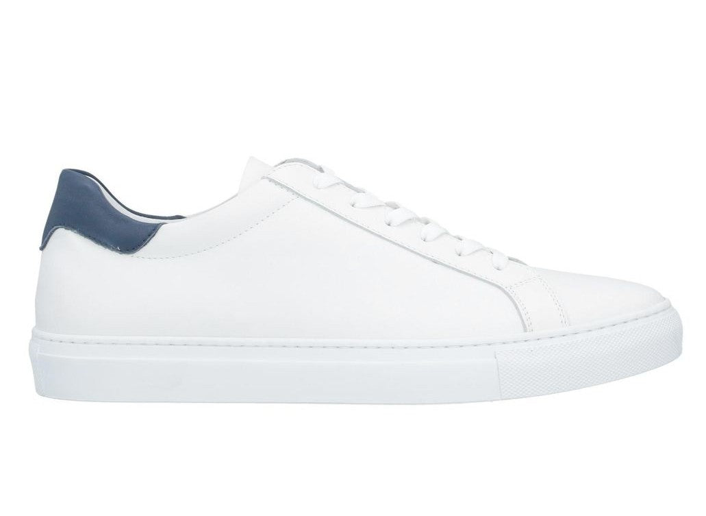 FABIANO RICCI  Men's White LowTop Trainers
