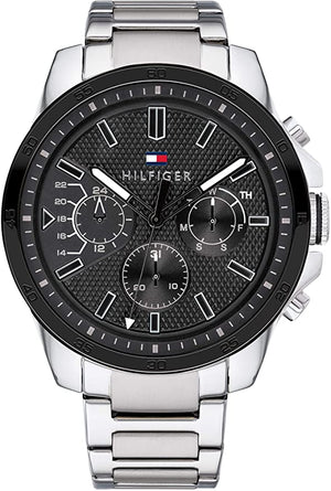 Tommy Hilfiger TRENT Men's Chrono Watch 1791049 Quality Accessories @ ninostyle.com  Nigeria