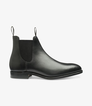 LOAKE - Apsley Premium Calf Boot - Black -Side View