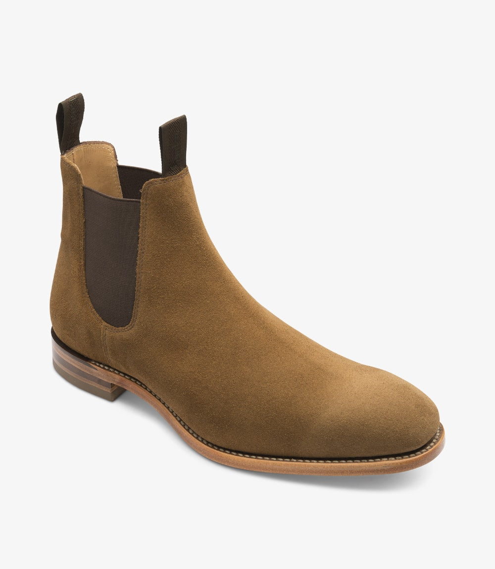 LOAKE - Apsley Premium Suede Boot - Side View