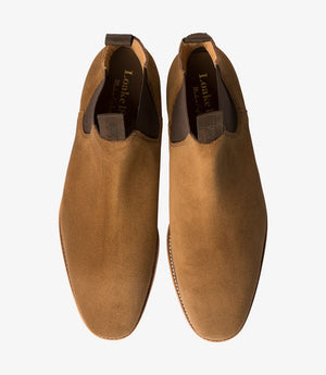 LOAKE - Apsley Premium Suede Boot - Top View