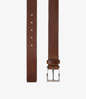 Loake James Men's Leather Belt - Brown
