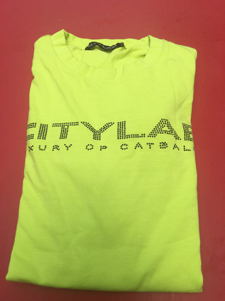 Catbalou - citylab Short Sleeved T-shirt - Lemon