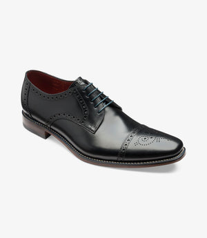 LOAKE Foley Stylish Brogue Derby Shoes