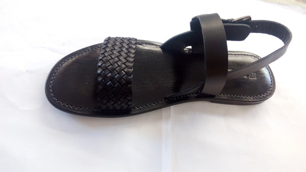 FABIANO RICCI - Strap/buckle detailing Sandals-2 - Black