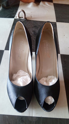 PRIMADONNA Fabric Pumps  - Black