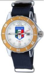 Spazio 24 cool supersport  wrist watch FIGC - Blue - Men