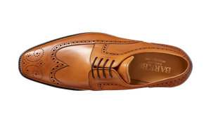 Barker Larry  Brogue Derby  - Cedar Calf