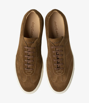 LOAKE OWENS - Suede Trainers - Tan Suede