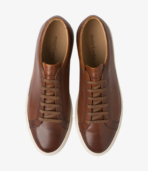 LOAKE  Sprint - Leather Sneakers -  Brown