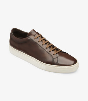 LOAKE  Sprint - Leather Sneakers -  Dark Brown