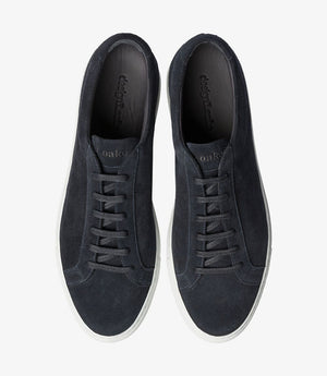 LOAKE  Sprint - Leather Sneakers -  Navy Suede