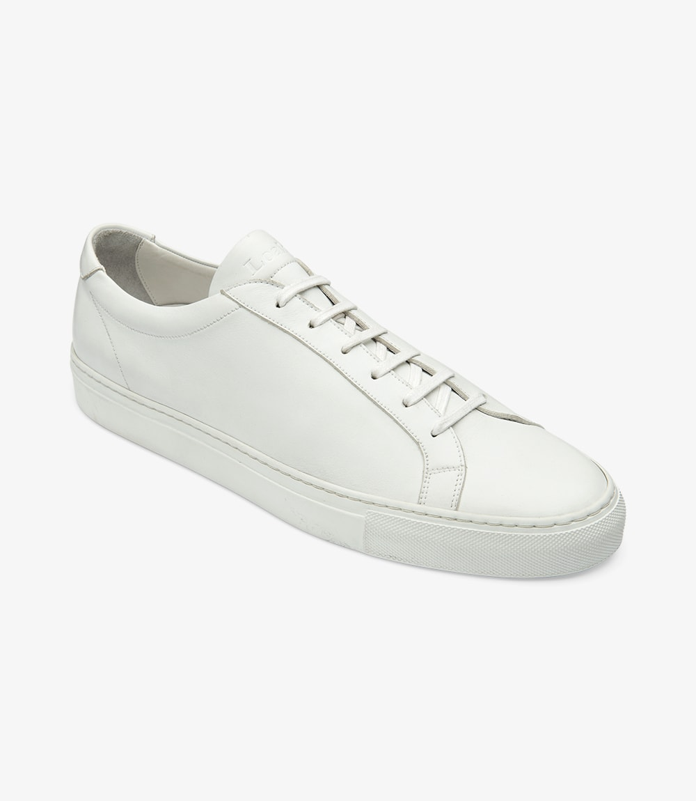 LOAKE  Sprint - Leather Sneakers -  White