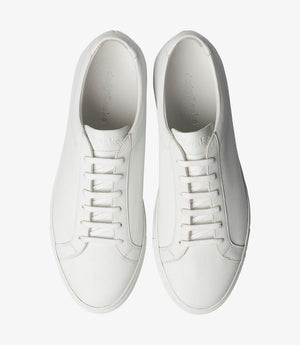 LOAKE  Sprint - Leather Sneakers - White- Top View