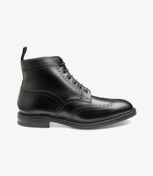 LOAKE Wolf - Premium Boot - Black - Side View