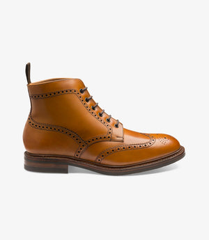 LOAKE Wolf - Premium Boot - Tan - Side View