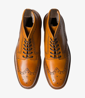 LOAKE Wolf - Premium Boot - Tan - Top View