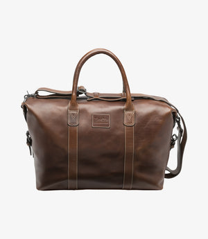 Loake Balmoral weekend Leather bag - Brown