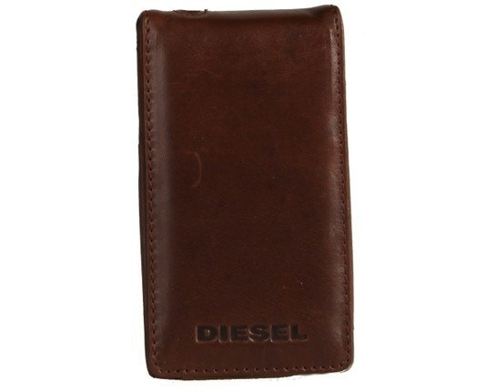 Accessories - Diesel - Iphone Pouch - Brown Leather 2