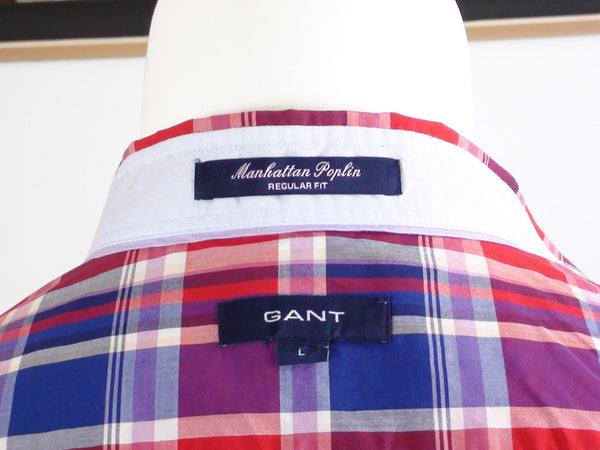 Accessories - GANT - Manhattan Poplin Shirt - Regular Fit
