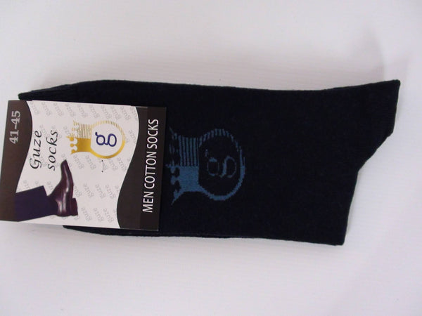 Accessories - Guze Socks Men - Blue