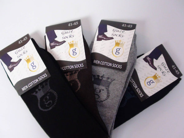Accessories - Guze Socks Men - Brown