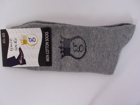 Accessories - Guze Socks Men - Grey