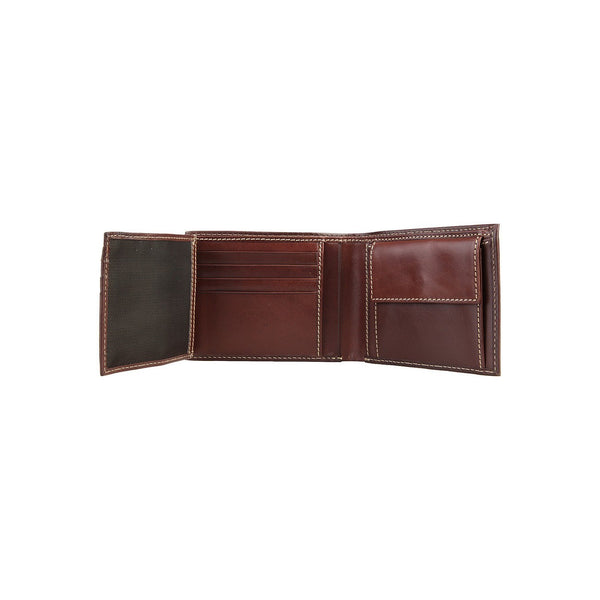Accessories - La Martina Men's Leather Wallet (extra Compartment-1) - Brown