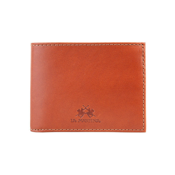 Accessories - La Martina Men's Leather Wallet - Tan