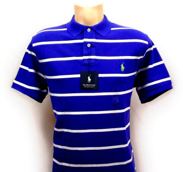 Baseball Cap - Polo Ralph Lauren - Custom Fit Striped Polo Top