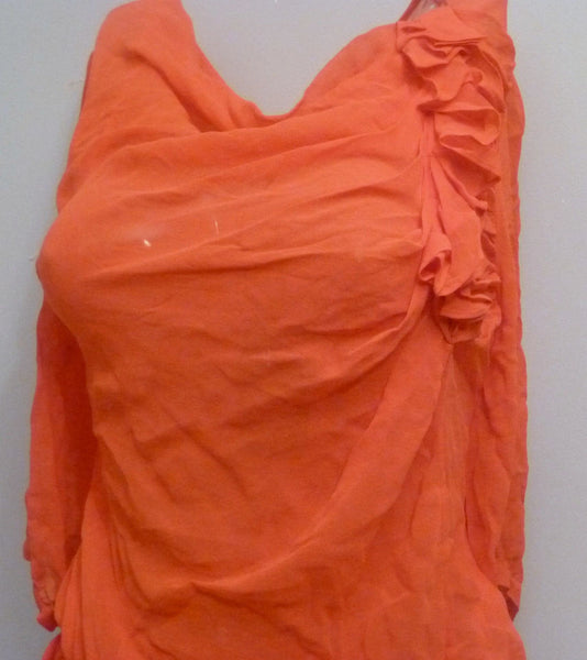 Blouse - Ladies - Ted Baker Chiffon Blouse - Size 16(UK)
