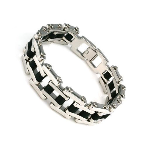 Bracelet - Bike Chain Bracelet 1 - Stainless Steel - Men