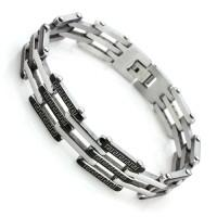 Bracelet - Link Chain Bracelet  - Stainless Steel - Men