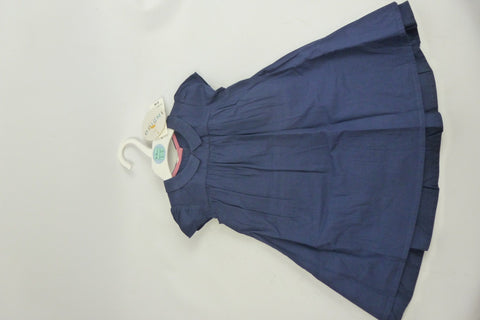 Children's Wear - Indigo Girl's Dress- Navy Blue