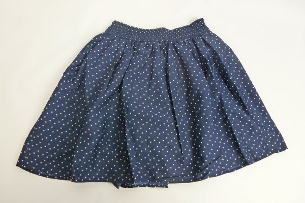 Children's Wear - Next Girl's Skirt - Spotted Blue