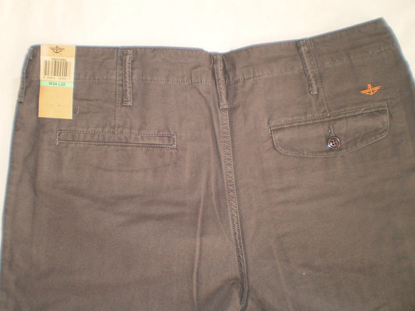 Chinos - Men - Dockers Straight-Fit D2 Chino Trouser - Dark Brown